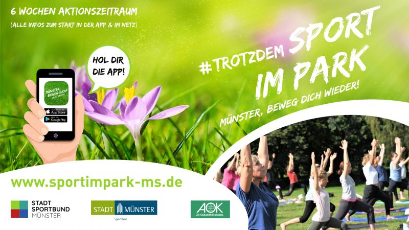 Sport im Park 2021 Restart